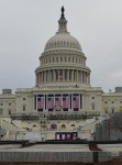 Workers prep the Capitol for the Inauguration
